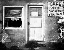 Open Cafe by Allan R. Lamb