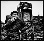 Gas Station Attendant by Vladimir Kabelik