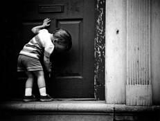 Child's Doorway Georgetown Washington by Leslie Hanes
