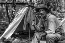 Civil War Reenactor by William R. West, Jr.