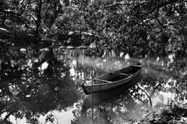 Wooden Boat by Walter Alberto Mitt Schause