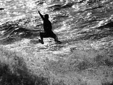 Swimmer by Walter Alberto Mitt Schause