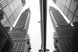 Reflection of Chrysler Building by Emmanuel
