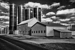 Infrared  Farm by William R. West, Jr.