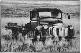 Chevrolet Truck Rusting In The Palouse by Matthew Ragen