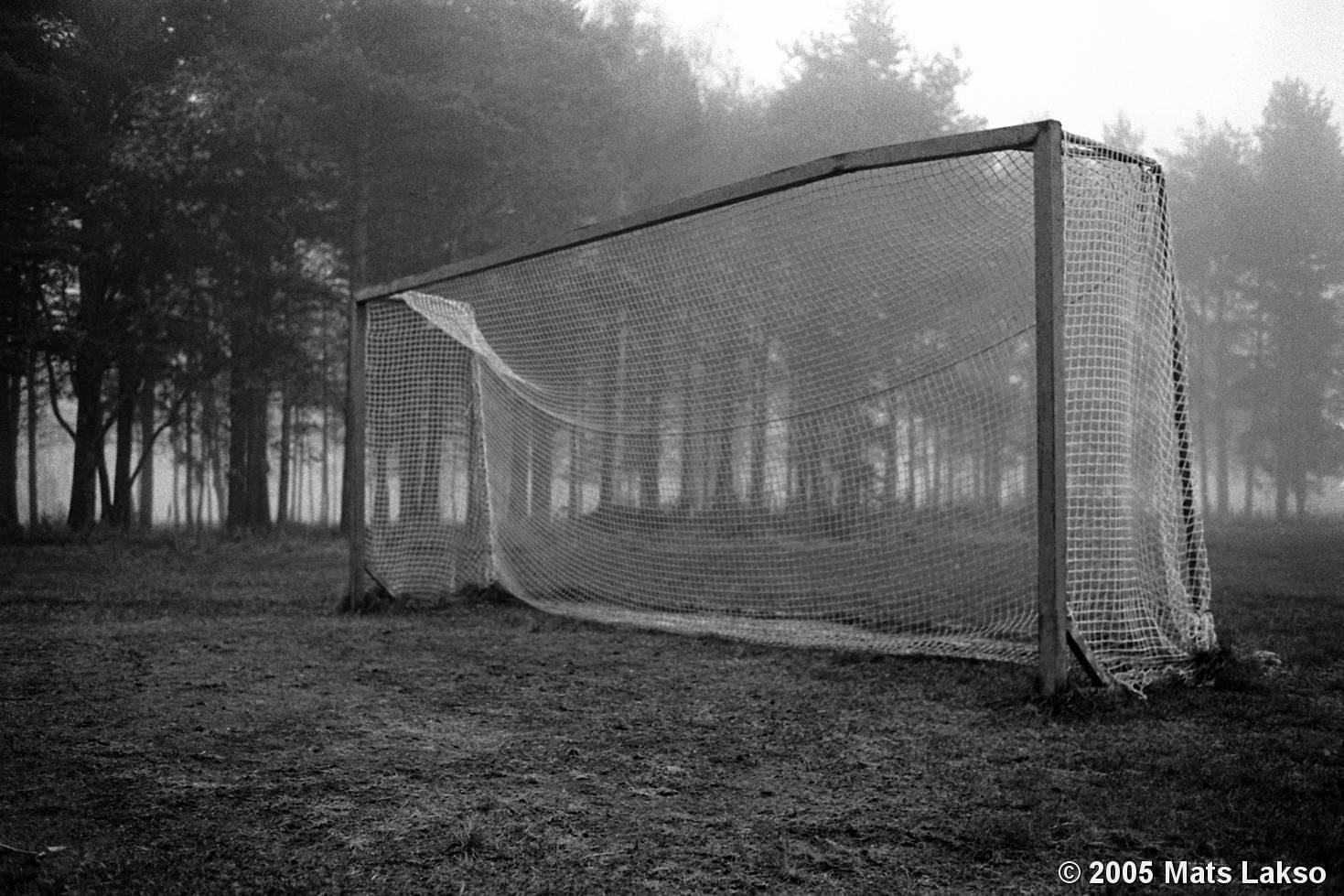 Black And White Soccer Goals 54