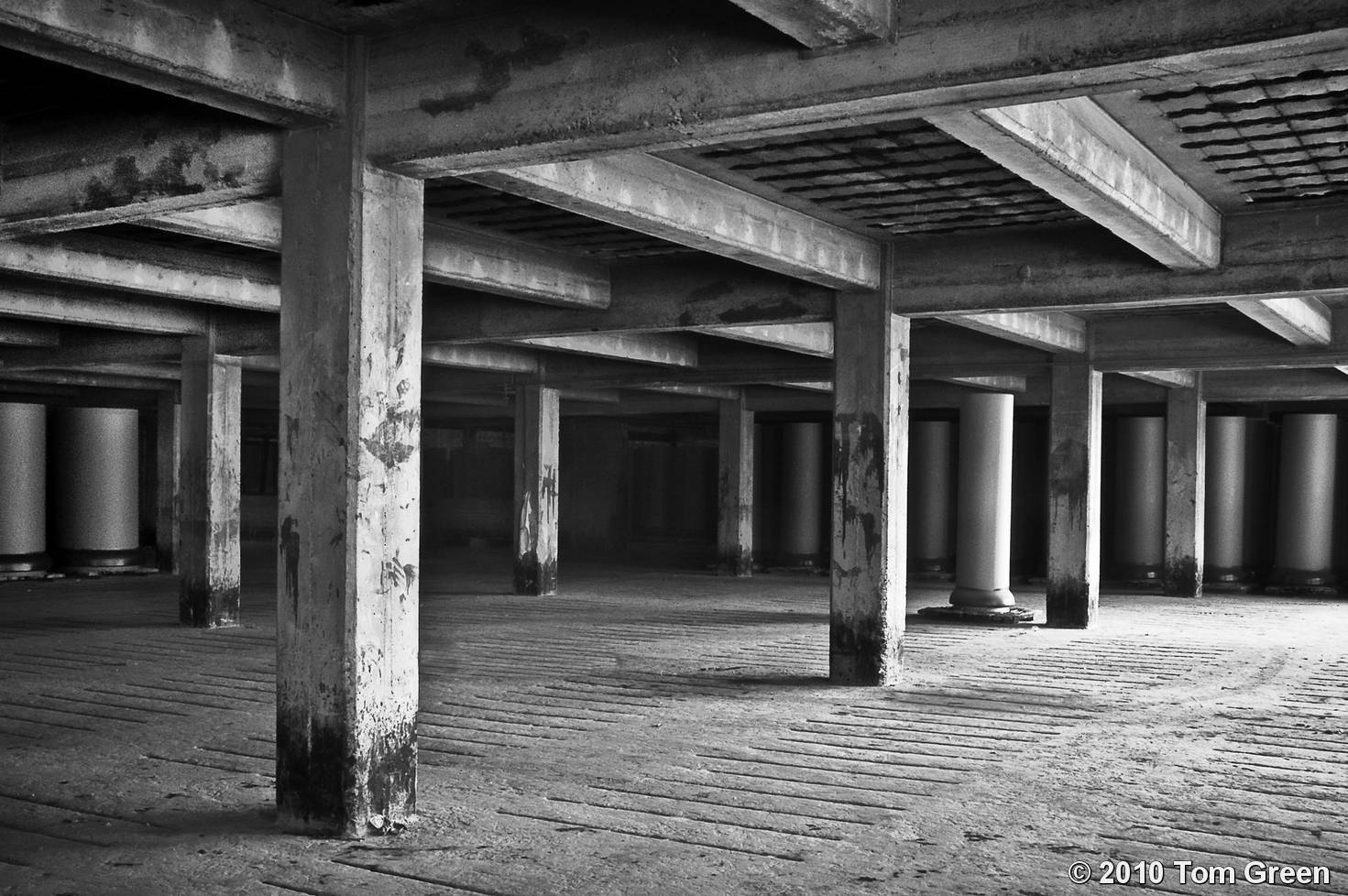 Empty Room by Tom Green | Black & White Magazine | For