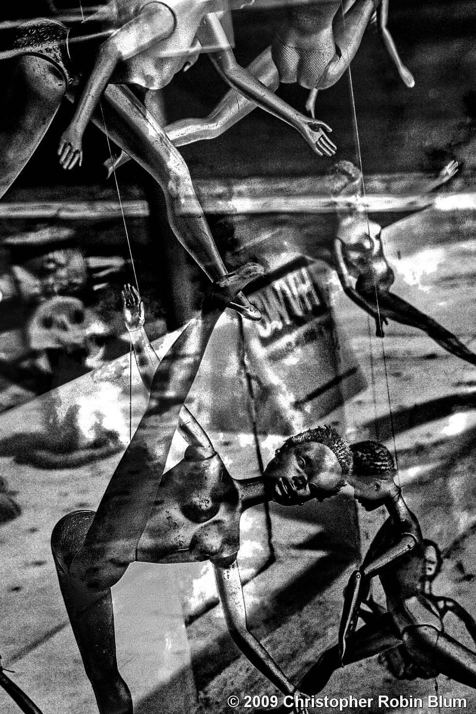 Anti-Gravity by Christopher Robin Blum | Black & White