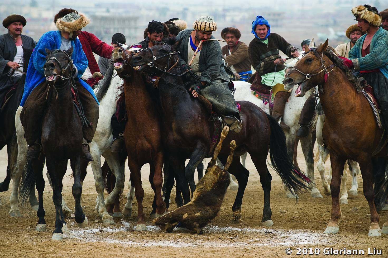 Buzkashi-5 by Gloriann Liu | Black & White Magazine