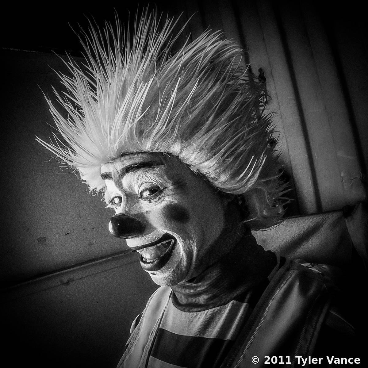 Clown by Tyler Vance | Black & White Magazine | For Collectors of