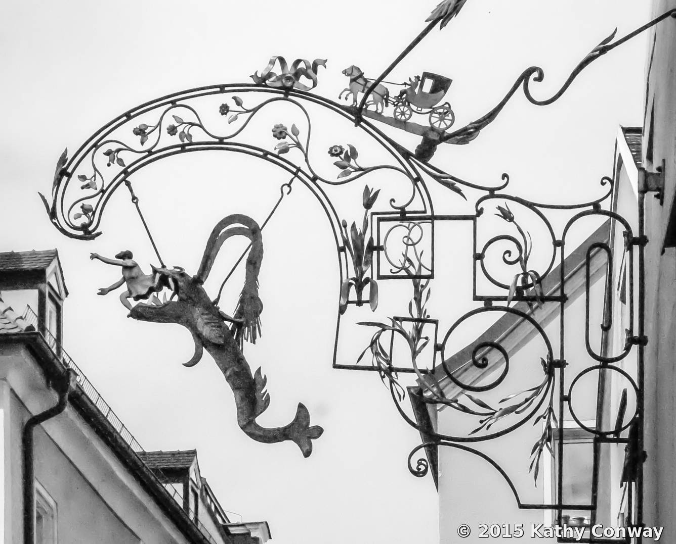 Sign Art by Kathy Conway | Black & White Magazine | For