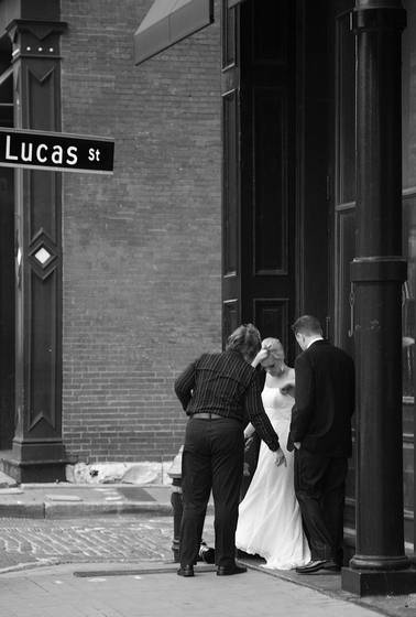 Lucas street wedding