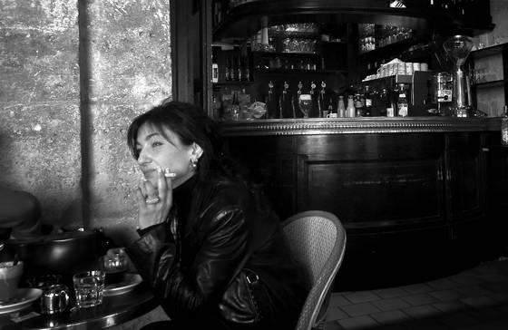 Cafe smoke