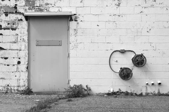 Door and valves