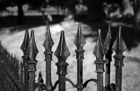 Graveyard spires