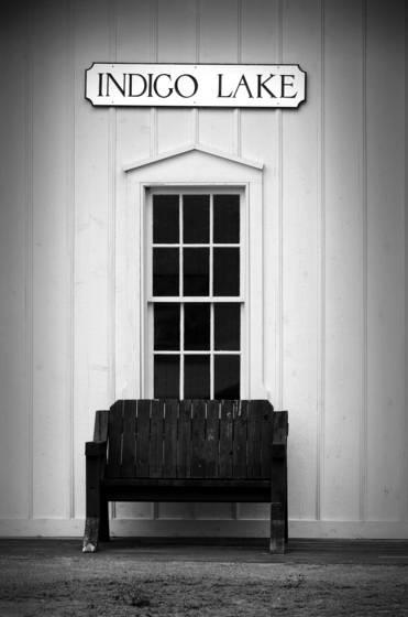 Indigo lake bench 1