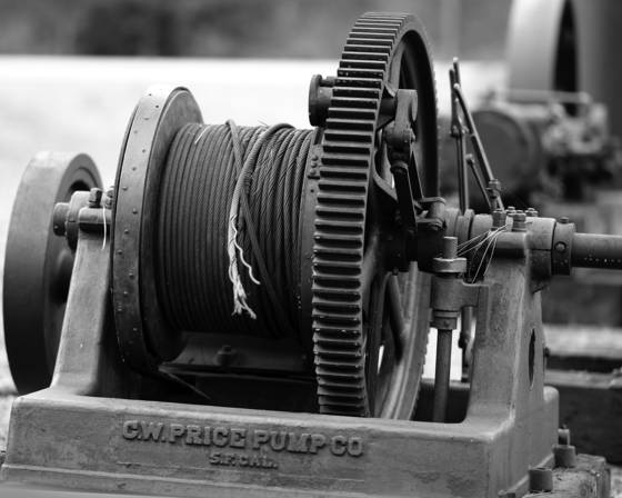 Gold mine pump