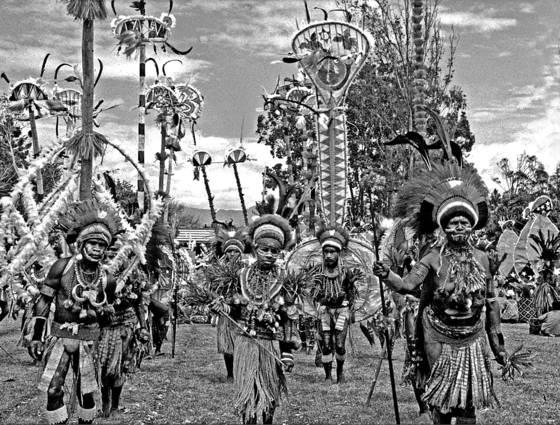 Papua parade