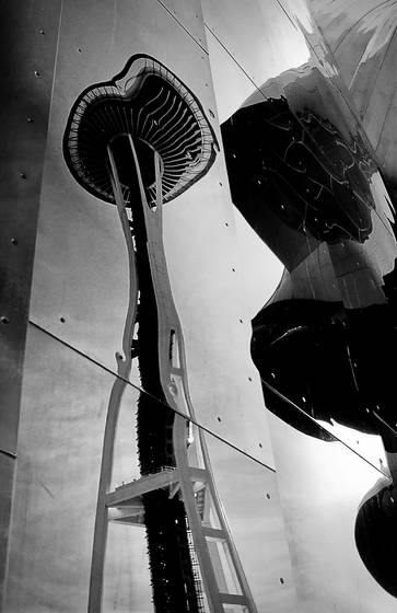 Space needle in emp