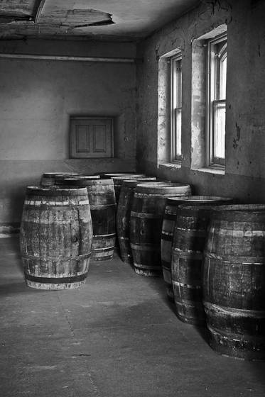 Basement barrels