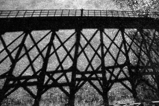 Bridge shadow