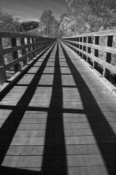 Rails and shadows