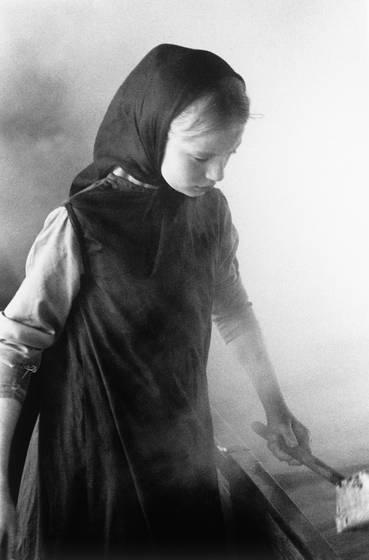 Mennonite child