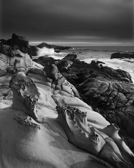 Tafoni shoreline