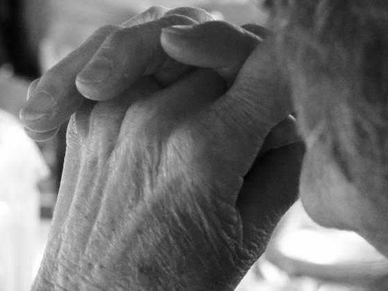 Hands of my grandmother