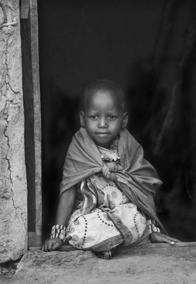 Child of masaii