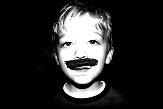 Grey s mustache