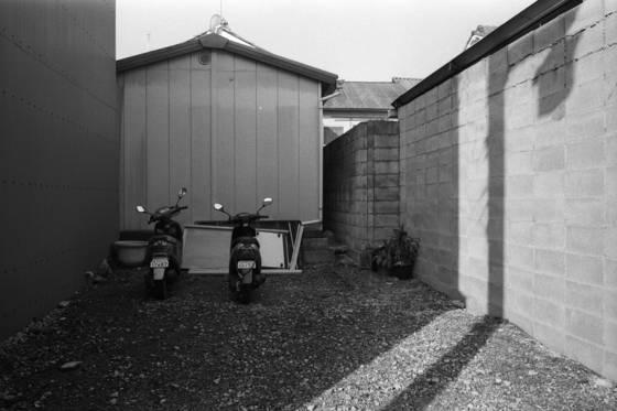 Two motorbikes