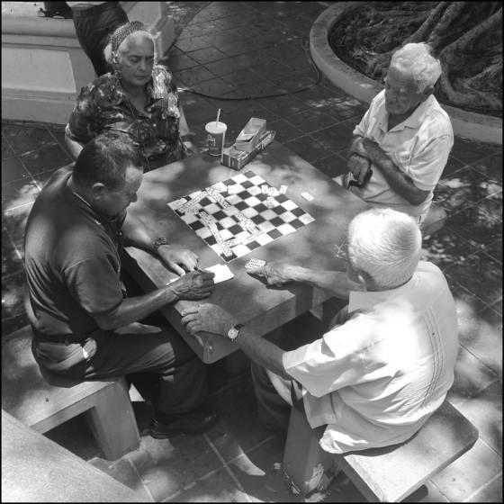 Domino players