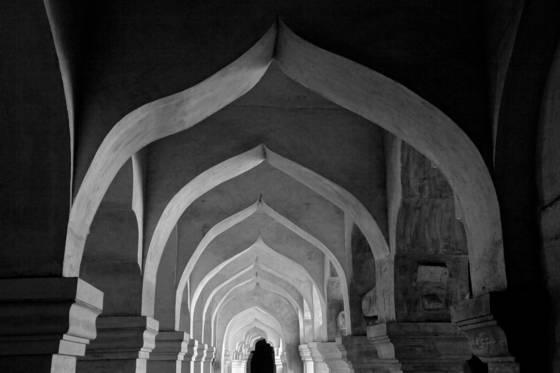 Eccentric arches