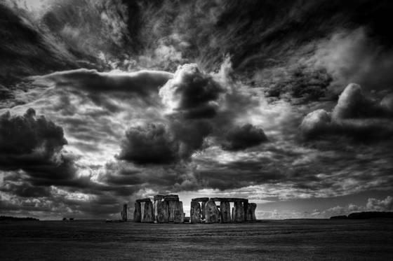 Storm over stonehenge