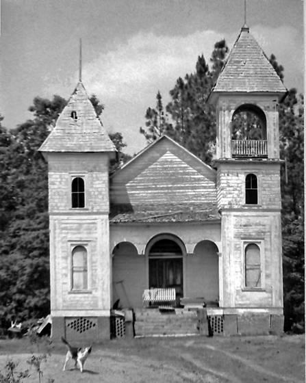 Georgian rural church