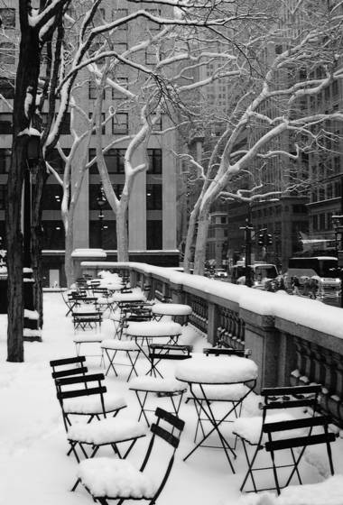 Fifth avenue snow
