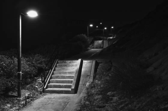 Stairs at calafia