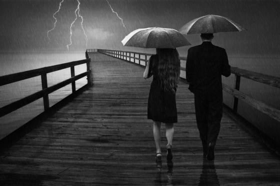 Stormy relationship