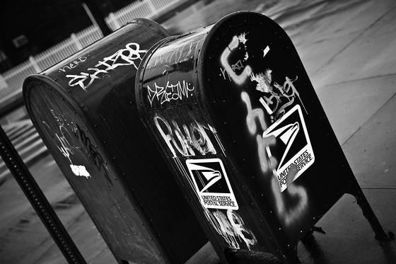 Postal graffitti