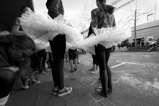 Street ballerinas