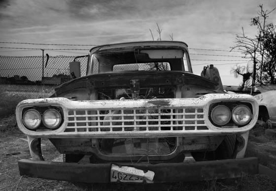 Junkyard truck