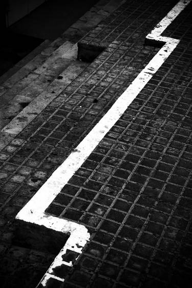 Sidewalk stripe