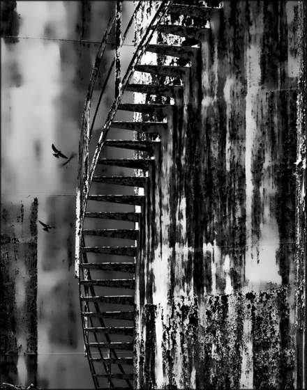 Flight of stairs  easton