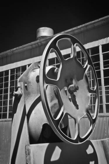 Train brake wheel