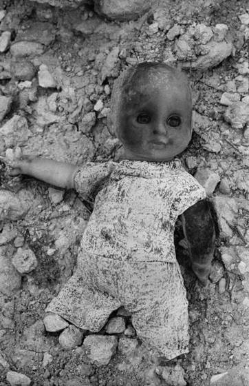 Mutilated doll