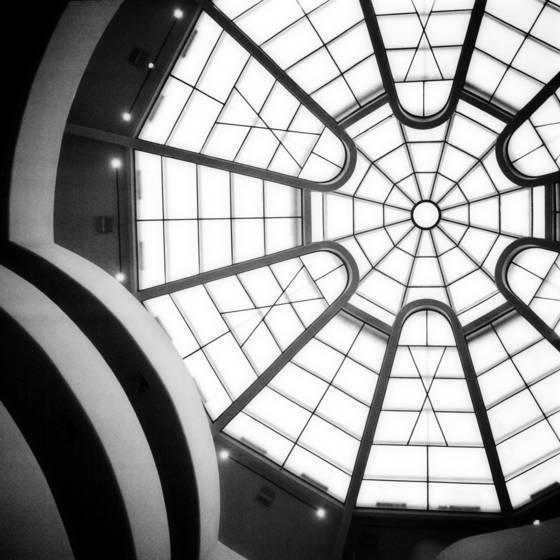 Void  guggenheim museum rotunda