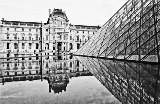 Louvre plaza
