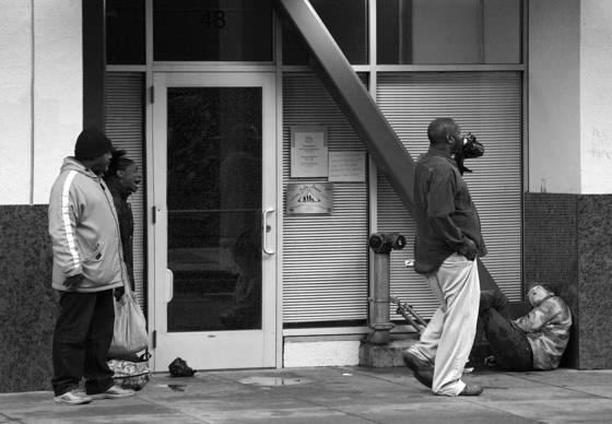 Tenderloin street scene  1