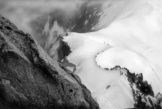 Alpine hikers